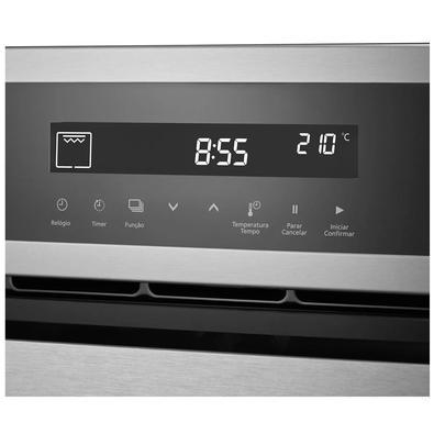 Forno Elétrico De Embutir Panasonic, 80 Litros, Grill, Inox, 220v - Hl-cx668srpk