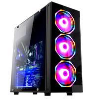 Computador Gamer Fácil Intel Core i5 9400f, 8GB DDR4, Geforce GTX 1050 Ti 4GB, HD 500GB, Fonte 500W