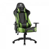 Cadeira Gamer Cruiser Fortrek, Suporta até 135Kg, Preta/Verde
