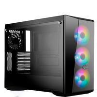 Computador Pc Gamer Fácil Intel Core I7 10700F Décima Geração, 16GB DDR4, GTX 1050TI 4GB, SSD 480GB, Cooler Master
