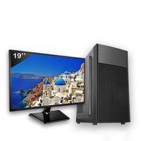 Computador Completo Icc Intel Core I3 4gb Hd 1tb Monitor 19