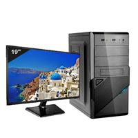 Computador Desktop Icc Iv2542sm19 Intel Core I5 3.20 Ghz 4gb Hd 1tb Hdmi Full Hd Monitor Led 19,5