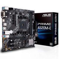 Placa Mãe Asus A520-E Prime AMD, Socket AM4, DDR4, mATX