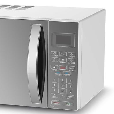 Microondas Philco Pmo33eb 32 Litros Menu Fit Espelhado 110v