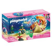 Playmobil, Sereia Com Gôndola De Caracol Do Mar