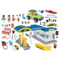 Playmobil, Posto De Combustível