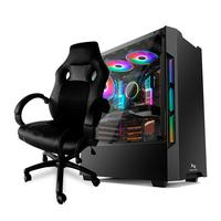 Pc Gamer Neologic Nli82366 Intel I5-9400f (gtx 1050ti 4gb) 8gb Ddr4, Ssd 120g B400w 80 Plus + Cadeira Gamer