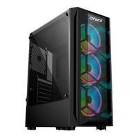 Computador Gamer Fácil Intel Core i3 10100f, 8GB, GTX 1050Ti 4GB, HD 500GB, Fonte 500W