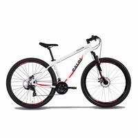 """Bicicleta MTB Caloi Vulcan Aro 29, 17"""", 21 Velocidades, Branco"""