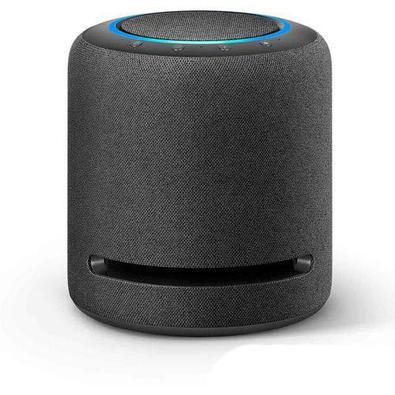 Smart Speaker Amazon Com Áudio De Alta Fidelidade E Alexa Preto - Amazon Echo Studio
