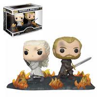 Funko Pop Game of Thrones T8 - Daenerys e Jorah na batalha de Winterfell 86