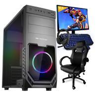 Pc Gamer Completo Smart Pc Smt81292 Intel I5 8gb (geforce Gtx 1650 4gb) 1tb + Cadeira Gamer