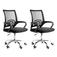 Conjunto Bela Com 2 Cadeiras Diretor Madri Tela, Para Sala De Reunião