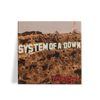 Azulejo Decorativo System Of A Down Toxicity 15x15