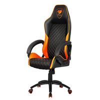 Cadeira Gamer Cougar Fusion Preto e Laranja - 3MFUSNXB.0001