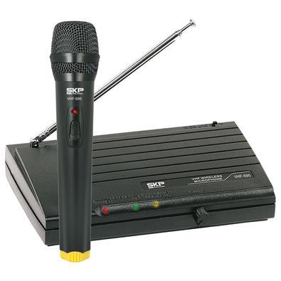 Microfone Sem Fio De Mao, Frequencia Vhf Alcance 50 Metros Vhf695