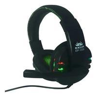 Fone Headset Gamer Usb Led Microfone Kp-359 Knup VERDE