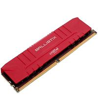 Memória Crucial Ballistix 8GB DDR4 3000Mhz CL15 Vermelha