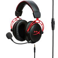 Headset Gamer Kingston Hyperx Cloud Alpha Microfone Removível Driver Dual Chamber - Hx-hsca-rd/am