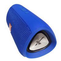 Caixa De Som Bluetooth Portátil Xtrad Entrada USB Xdg E16+ Azul