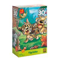 Puzzle 30 Peças Tigrinho