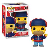 Boneco Funko Pop The Simpsons Homer Mr. Plow 910