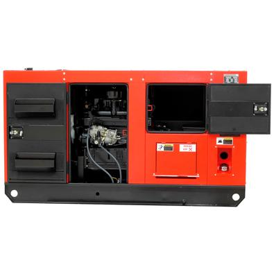 Gerador De Energia A Diesel 33 Kva Trifásico 110-220v Silenciado Com Qta - Nd33100es3qta - Nagano