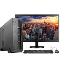 "Computador Completo Fácil Slim Intel 4GB, HD 500GB, c/ Monitor 19"" HDMI Led, Teclado e Mouse"