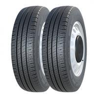 Kit 2 Pneus Michelin Aro 16 205/75r16c Agilis 110/108r