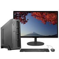 "Computador Fácil Slim Premium Completo Intel Core I5 9400F Nona Geração, 8GB DDR4, HD 500GB, Monitor 21.5"" Led, HDMI"