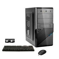 Computador Corporate I3 8gb 120gb Ssd Dvdrw Kit Multimídia