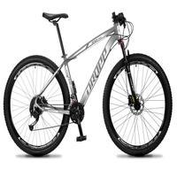 Bicicleta Aro 29 Dropp Rs1 Pro 27v Alivio, Fr. Hidra E Trava - Cinza/branco - 17'' - 17''
