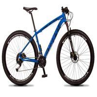 Bicicleta Aro 29 Dropp Rs1 Pro 27v Alivio, Fr. Hidra E Trava - Azul/preto - 17'' - 17''