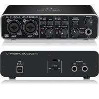 Interface De Áudio Behringer Umc202-hd U-phoria