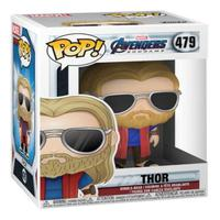 Boneco Funko Pop Marvel Avengers Endgame Thor Casual 479