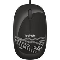 Mouse Logitech M105 3 Botoes Usb Preto