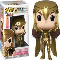 Boneco Funko Pop Heroes Wonder Woman 1984 Wonder Woman Golden Armor 323