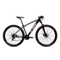 Bicicleta Alum 29 Ksw Cambios Gta 24 Vel A Disco Ltx Hidráulica - 15.5'' - Preto/prata