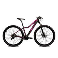 Bicicleta Alum 29 Ksw Cambios Gta 24 Vel A Disco Ltx Hidráulica - 15.5´´ - Preto/rosa