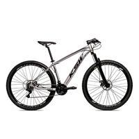 Bicicleta Alum 29 Ksw Cambios Gta 24 Vel A Disco Ltx - 19´´ - Prata/preto