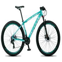 Bicicleta Aro 29 Dropp Rs1 Pro 21v Tourney Freio Disco/trava - Verde/branco - 19