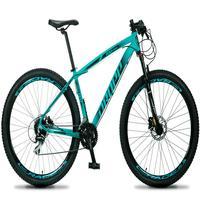 Bicicleta Aro 29 Dropp Rs1 Pro 24v Acera Freio Hidra E Trava - Verde/preto - 15´´ - 15´´