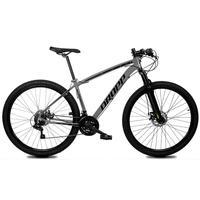 Bicicleta Aro 29 Dropp Z1x 21v Shimano, Susp E Freio A Disco - Cinza/preto - 15''