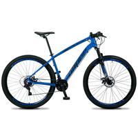 Bicicleta Aro 29 Dropp Tx 21v Shimano, Suspensão E Freio Disco - Azul/preto - 17''