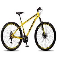 Bicicleta Aro 29 Dropp Sport 21v Suspensão E Freio A Disco - Amarelo/preto - 19''