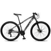 Bicicleta Aro 29 Dropp Z4x 24v Suspensão E Freio A Disco - Preto/cinza - 21''