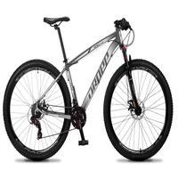 Bicicleta Aro 29 Dropp Rs1 Pro 21v Tourney Freio Disco/trava - Preto/branco - 21