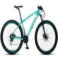 Bicicleta Aro 29 Dropp Rs1 Pro 24v Acera Freio Hidra E Trava - Verde/branco - 15