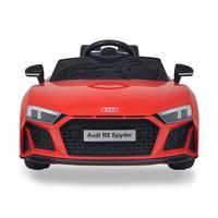 Mini Carro Eletrico Audi R8 Spyder Vermelho 12v C/ Som E Luz Bw123vm Importway