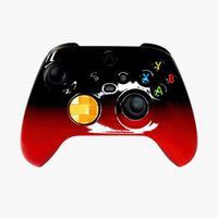 Controle Xbox Séries X/s, Competitivo, Alta Performance, Black Red